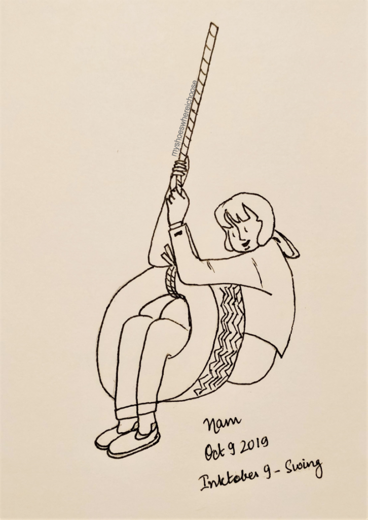 Inktober 2019 Day 9- swing